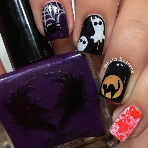 Fresh Halloween Nail Designs picture 5