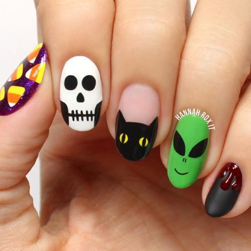 Cool Halloween Nail Art Designs picture 1