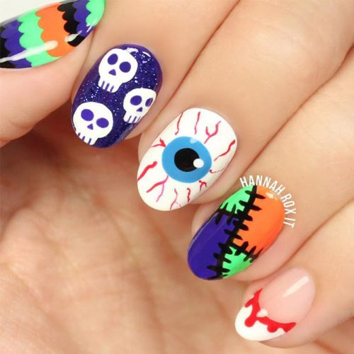 Fresh Halloween Nail Designs picture 1