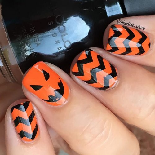 Scarily Easy Halloween Nails picture 3