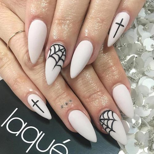 41 Cute And Creepy Halloween Nail Designs 2020