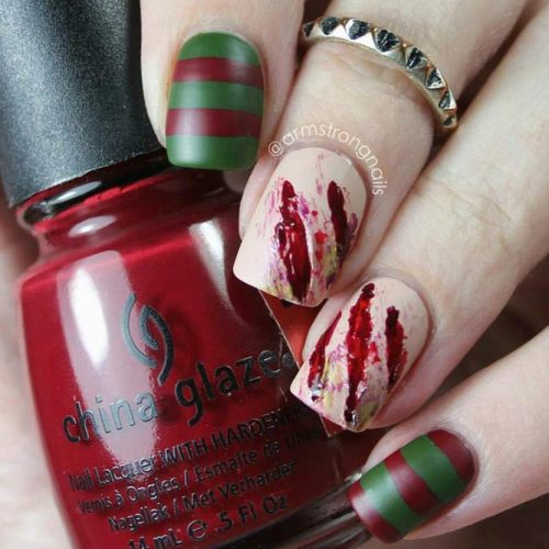 Scarily Easy Halloween Nails picture 1
