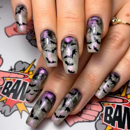 Bets Nail Art #marblednails