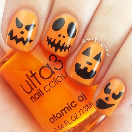 Easy Halloween Nail Art Ideas You Should to Try picture 6