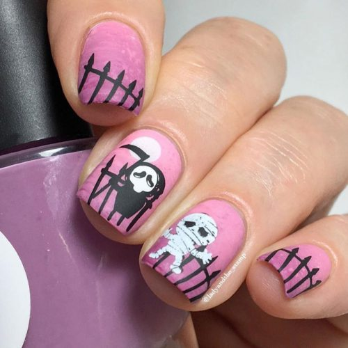 Fun and Scary Halloween Nail Ideas picture 2