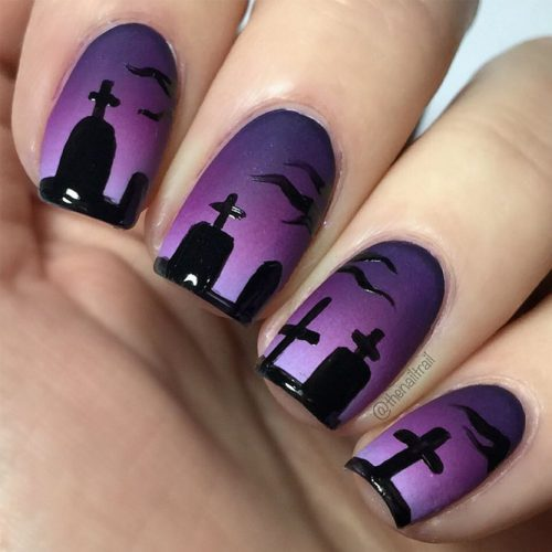 Cool Halloween Nail Designs picture 5