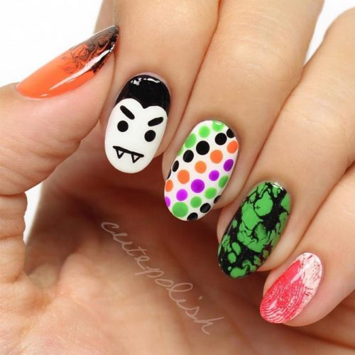 Easy Halloween Nail Art Ideas You Should to Try picture 5