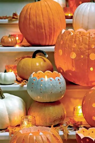 Popular DIY Halloween Decorations with Pumpkins picture 6