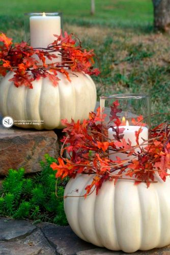 Halloween Decoration Ideas with Cute Pumpkins picture 3