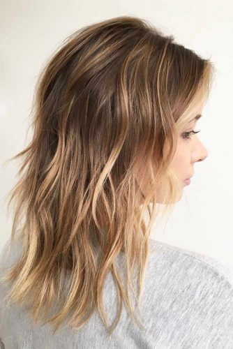 Shaggy Layered Haircuts for Thin Hair