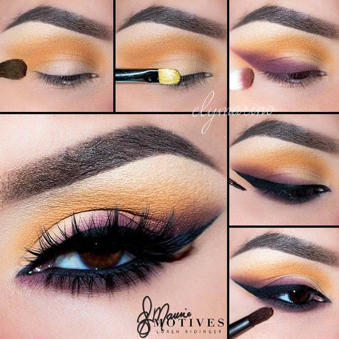 How to Do Eye Makeup for Brown Eyes picture 1