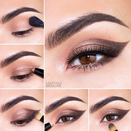 Cute Makeup for Brown Eyes picture 3