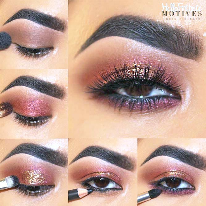 How to Do Eye Makeup for Brown Eyes picture 3