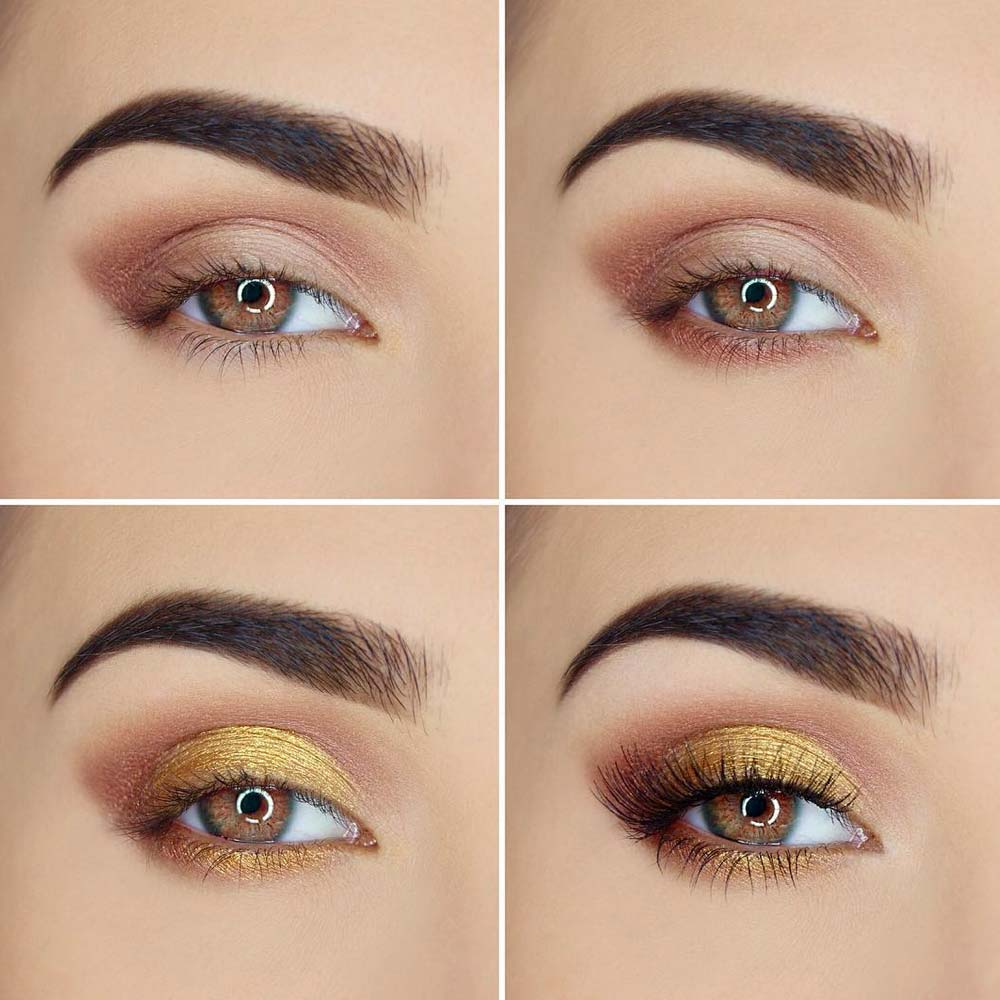 Yellow or Orange Shades for Brown Eyes