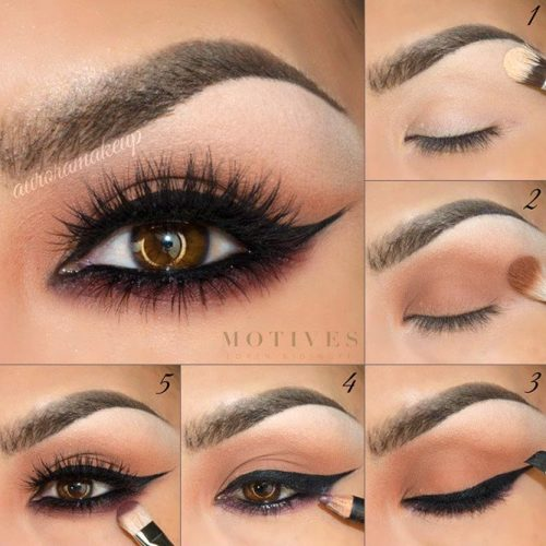 Makeup for Brown Eyes Step by Step picture 4