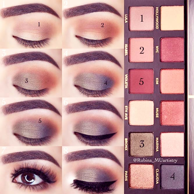 Easy Makeup Tutorials for Brown Eyes picture 1