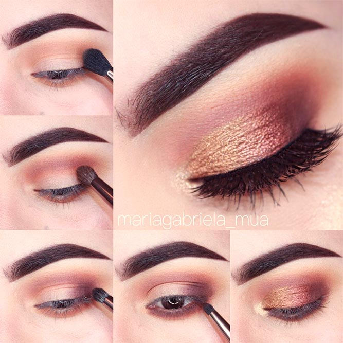 Cute Makeup for Brown Eyes picture 4