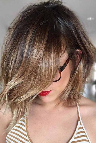 Chic Warm Colored Bob