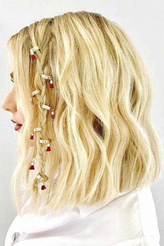 Romantic Medium Hairstyle