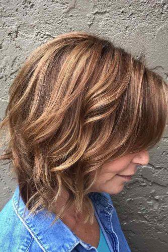 Wavy Layered Hairstyle
