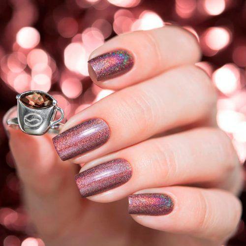 Holographic Nail Design #holonails