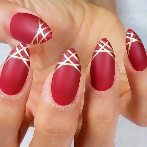 Matte Nails #mattenails #rednails