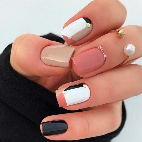 Geometric Nail Design #geometricnails
