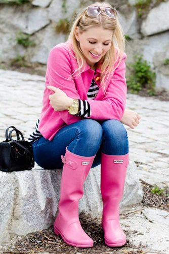 Glam Girly Look for Casual Outfits