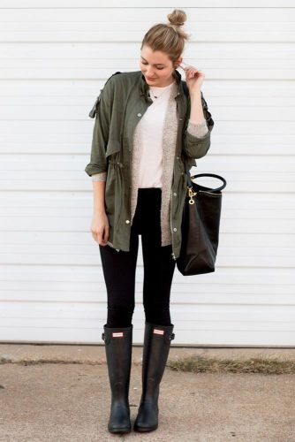 Super Casual Look for Rainy Weather