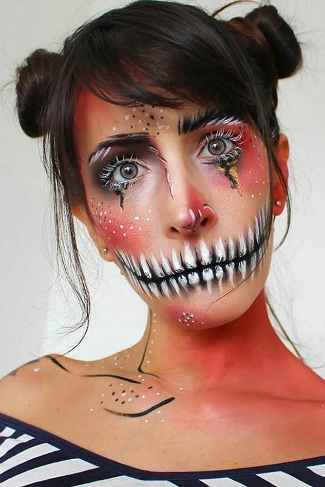 Comic Halloween Make Up