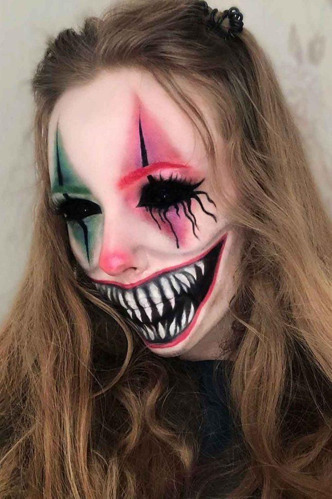 Crazy Clown Makeup