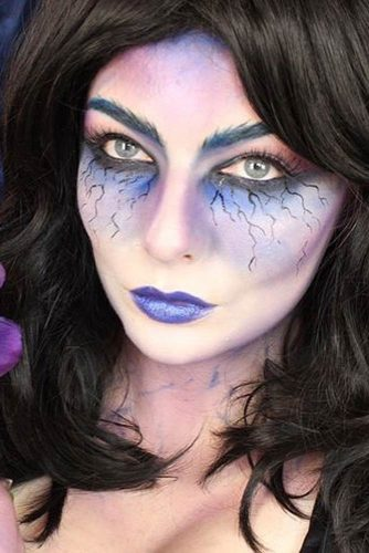 Easy Make Up Look for Halloween Night