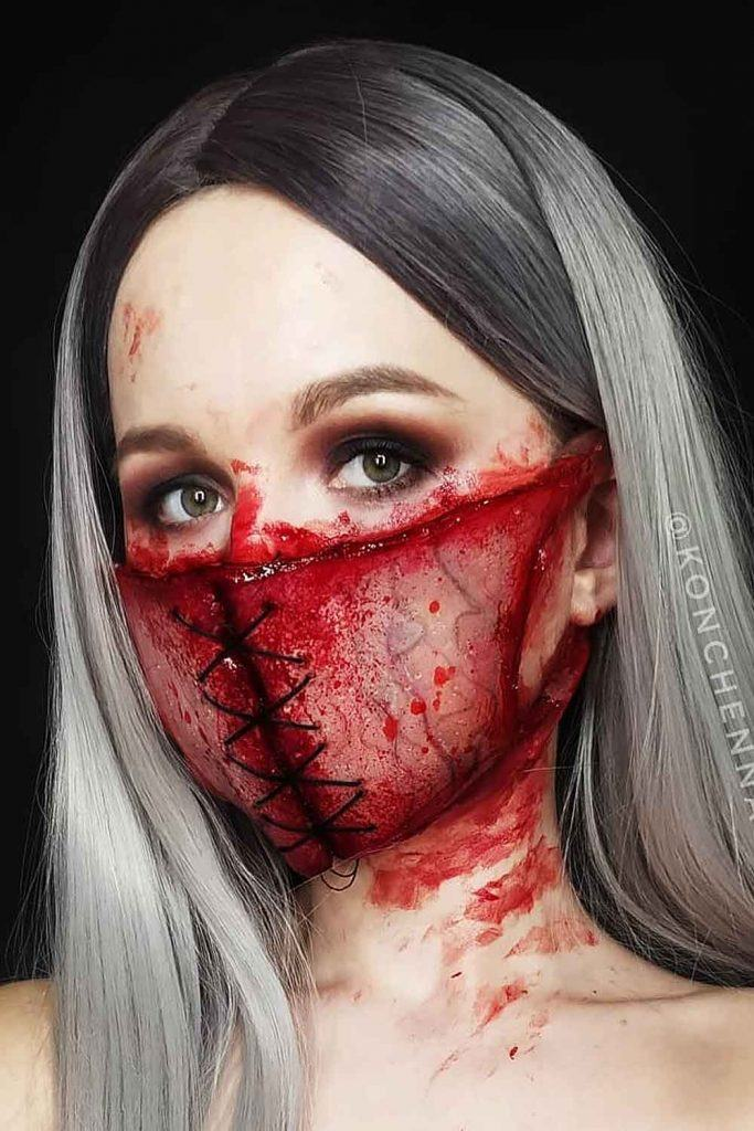 Scary Facial Mask