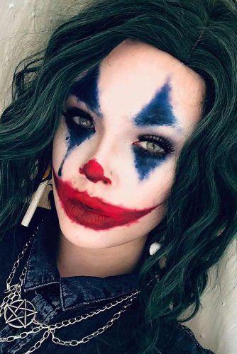 Joker Scary Makeup #joker #filmcharacter
