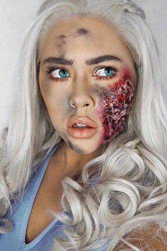 Mother Of Dragons Makeup #gamesofthrones