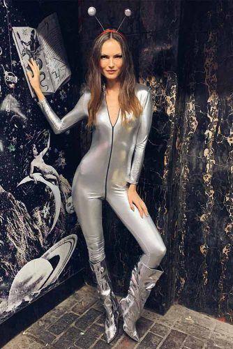 Alien Halloween Costume #alien #aliencostume