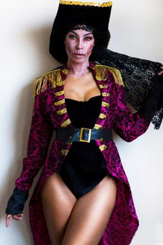 Swashbuckler Halloween Costume #bodysuit #skull #plussize