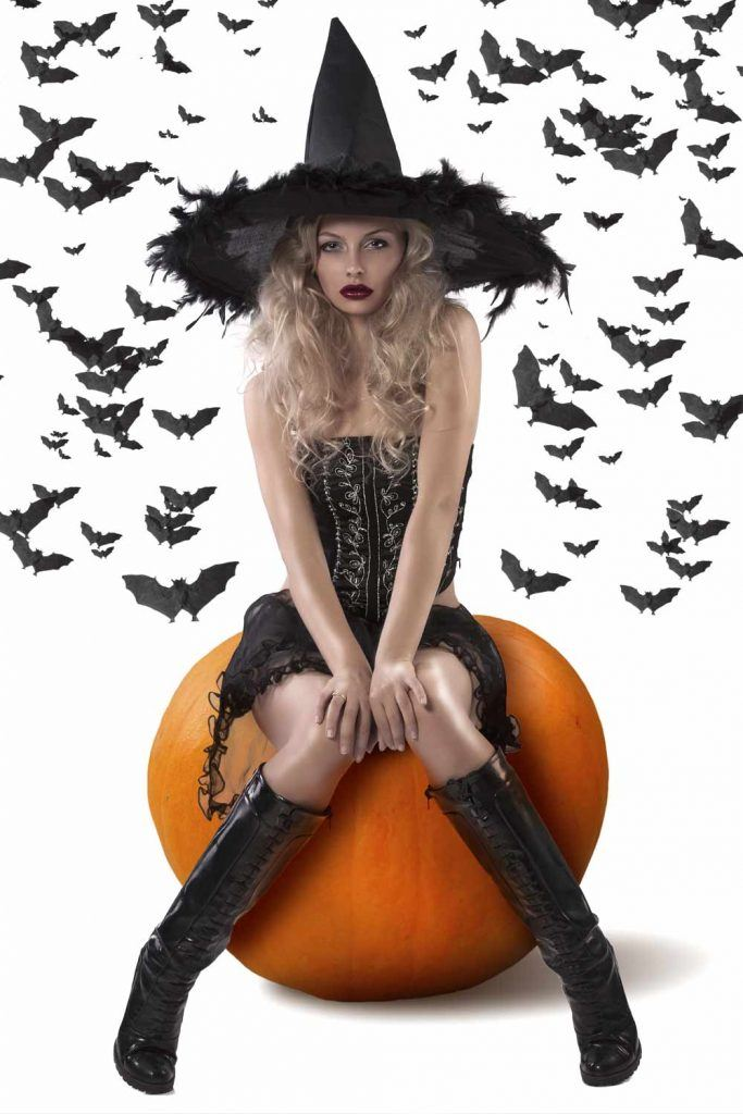 Cute Witch Halloween Costume