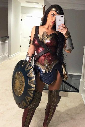 Wonder Women Halloween Costume #wonderwomen #fantasycharacter