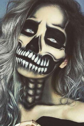 Newest Skeleton Makeup Ideas picture 4