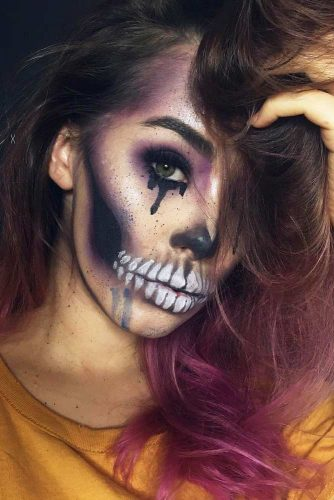 Newest Skeleton Makeup Ideas picture 3