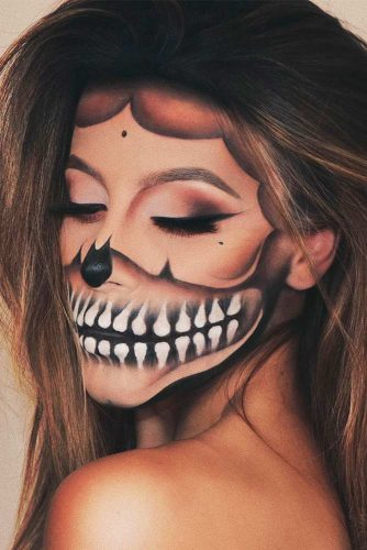 Newest Skeleton Makeup Ideas picture 2