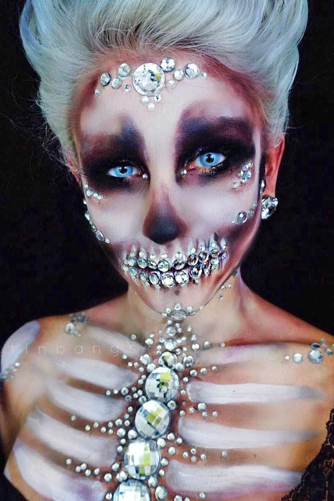 Best Skeleton Makeup Ideas picture 1