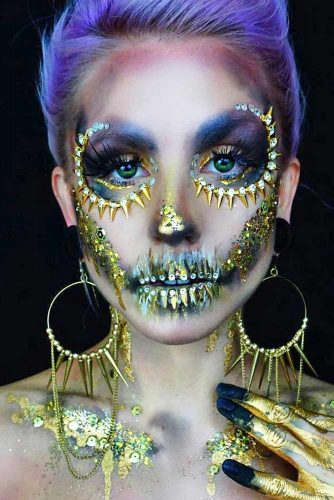 Sugar Skull Makeup Ideas picture 4