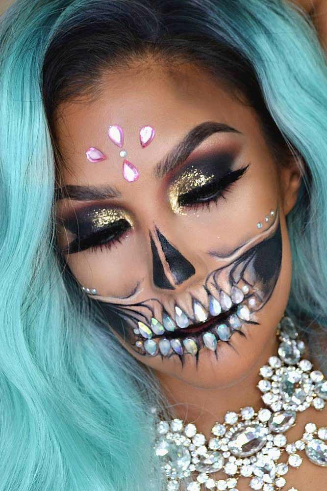 Best Skeleton Makeup Ideas picture 4