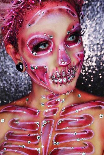 Newest Skeleton Makeup Ideas picture 6