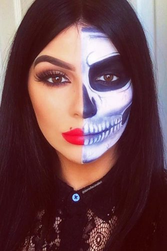 Best Skeleton Makeup Ideas picture 3