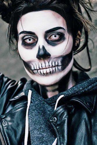Best Skeleton Makeup Ideas picture 2