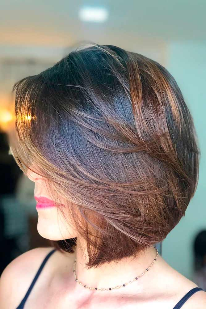 Touchable Easy-To-Wear Bob #brownhair #ombrehair