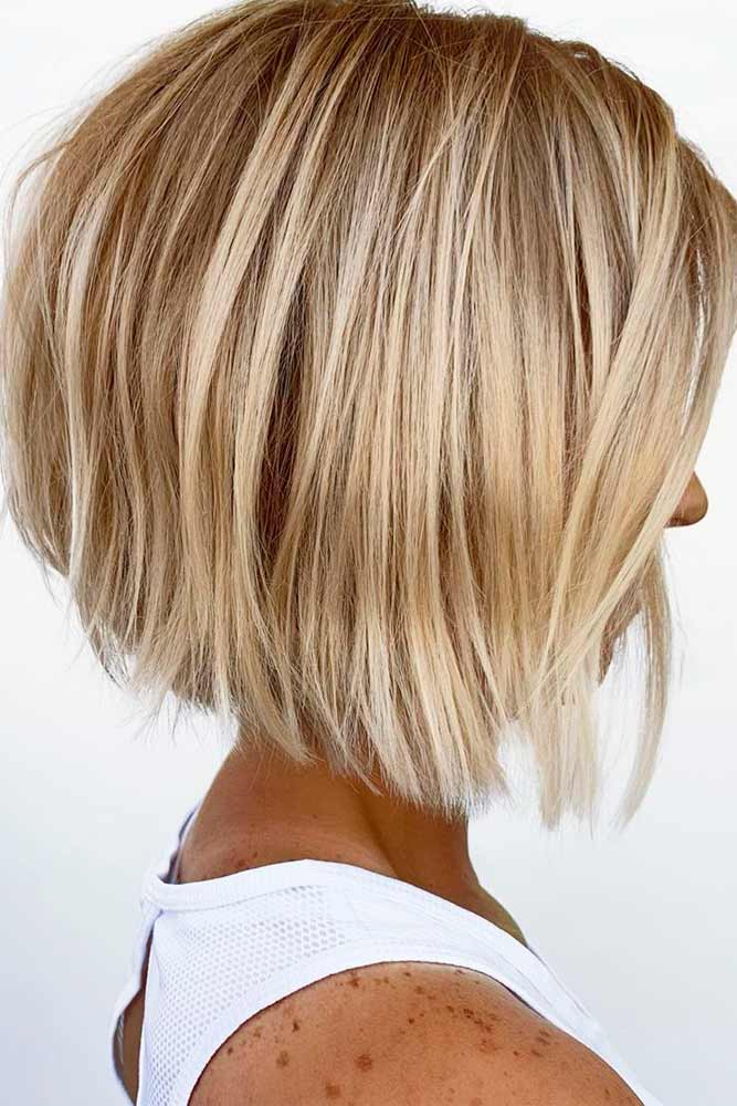 Disheveled Blonde Bob #blondehair #messyhair